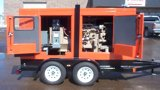 Trailer mounted 40 kW genset