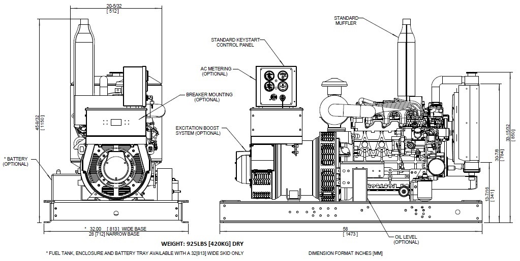 Frontier Power Products Ks2000 Generator Set