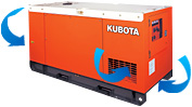 Kubota SQ generators