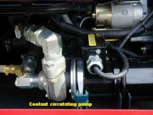 RER CS 1 - water pump wet end