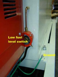 RER - Fuel1 - fuel lev switch