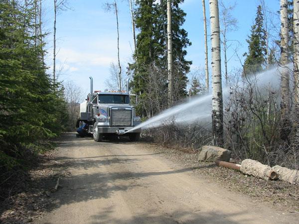 hopper-water-truck