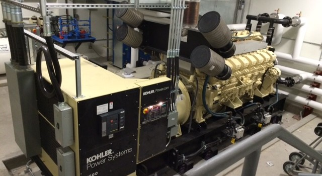 Emergency Power for Hospital – Kohler Standby Generator