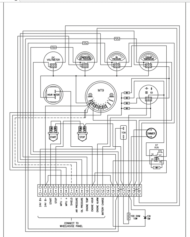 Engineering electrical drawing 1 r frontier power products malvernweather Images