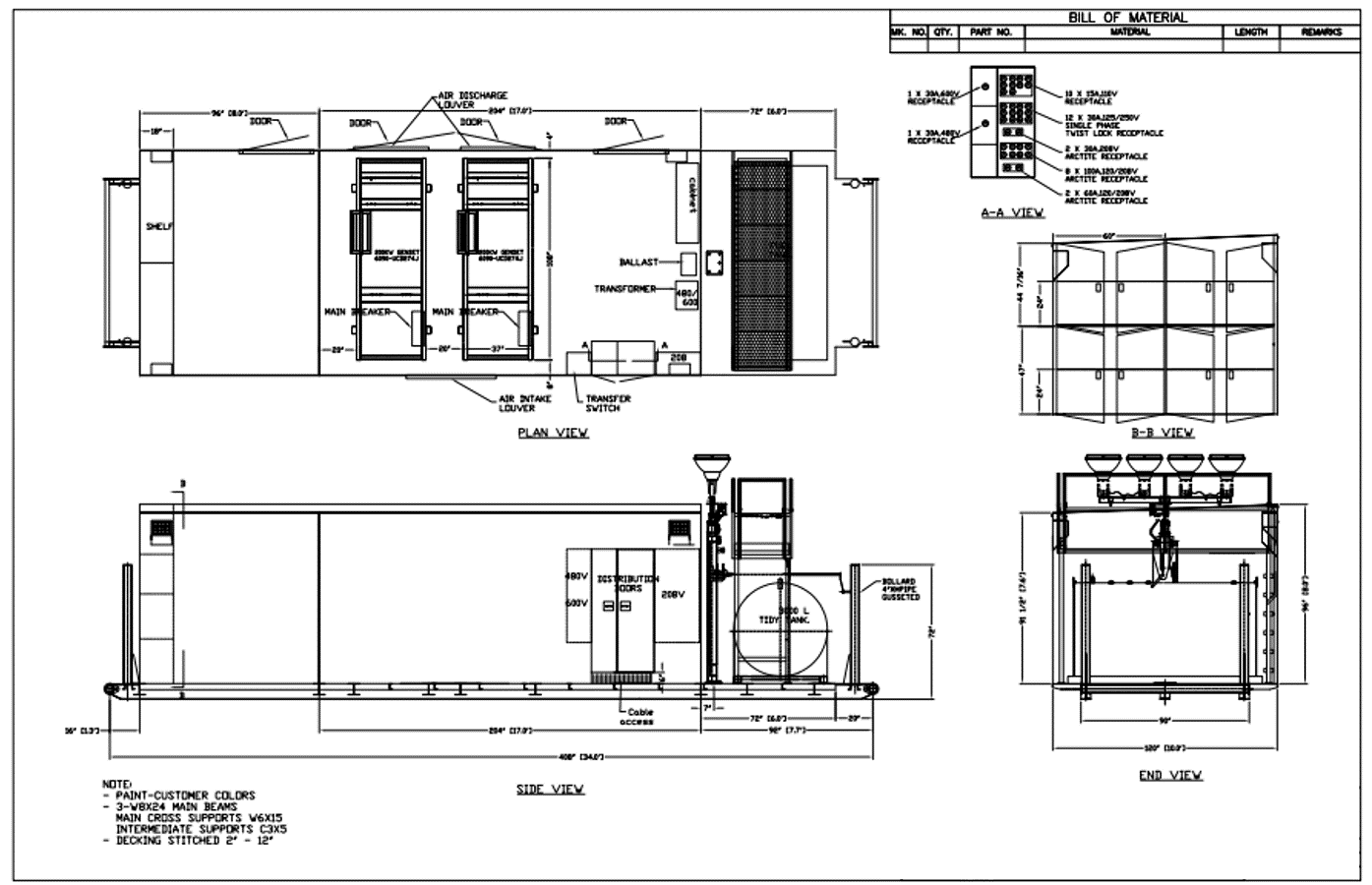 Engineering Frontier Power Products Electrical Drawing 1 R Page Edm 2